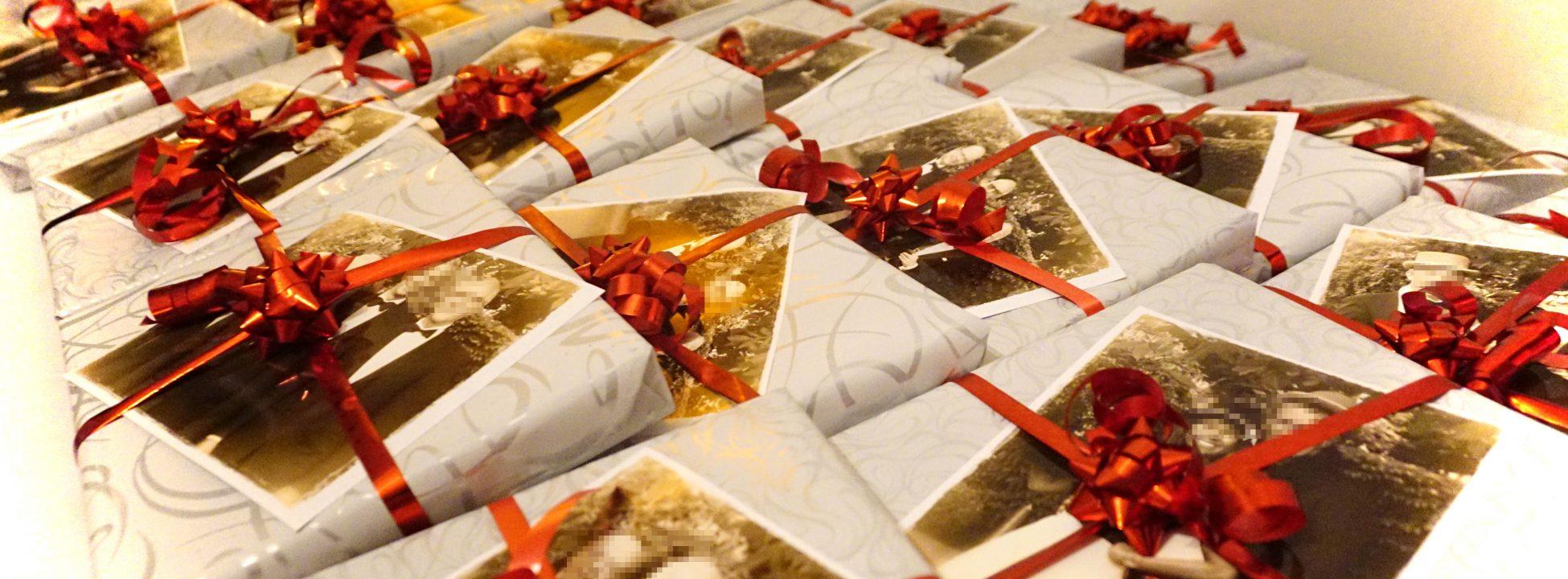 V-I-P-Kunden-Event. Individuelle Foto-Geschenke